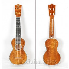 Martin 5K Uke Solid Fully Bound Master Grade Koa with Abalone inlay - Special Order - Call for ETA