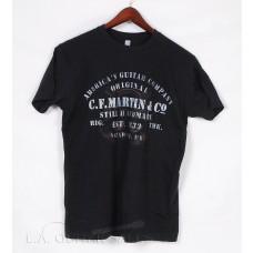 "Official Martin ""America's Guitar Company"" Black Tee Shirt Model 18C0007"