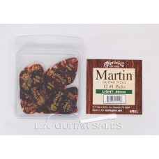 Martin Guitars APK1L Light Guitar Picks