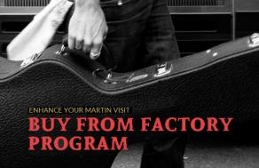 Martin Guitar Buy From Factory Program