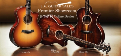 Taylor Guitars 2017 Fall Limited Lineup